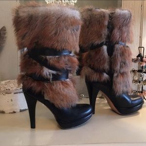 Uggs blue sheep boots